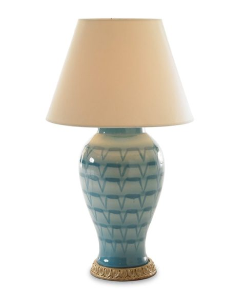 Turquoise Lamp | House of Ruby Interior Design | houseofruby.com