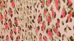 Rose Cumming Pink Animal Print Fabric