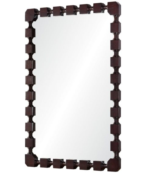 Hand Carved Mirror | House of Ruby Interior Design | houseofruby.com