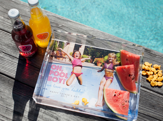 Acrylic Photo Tray