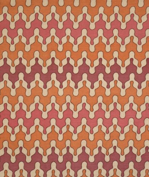 Barry Dixon Ishtar Cinnabar Fabric | House of Ruby Interior Design | houseofruby.com